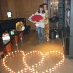 室内室外浪漫求婚方式-求婚创意报价图片