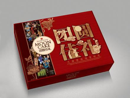 供应月饼盒茶叶盒包装设计图片