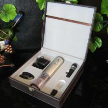 供应红酒电动开瓶器酒具套装 红酒盒 红酒酒盒 葡萄酒盒 红酒礼盒