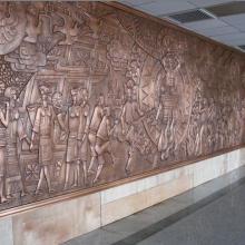 供应成都铜壁画制作/成都铜壁画安装/成都铜壁画价格
