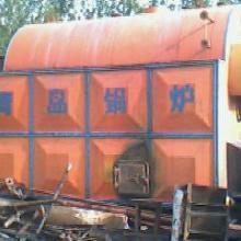 供应09年产的2T蒸汽锅炉铺件齐全