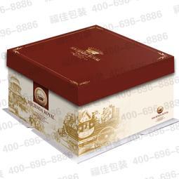 庄园 蛋糕盒/供应三体方型蛋糕盒—皇家庄园图片