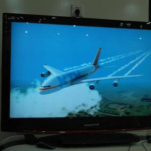 46寸透镜系列裸视3D广告机图片