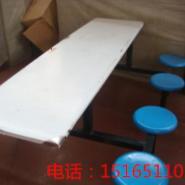 供应八人连体不锈钢食堂餐桌椅北京食堂餐桌椅河北食堂餐桌椅