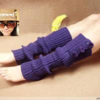 粗针织三毛球护膝袜套批发 厂家直销春款流行袜套 小额批发