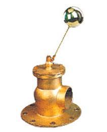 116型二通黄铜法兰球阀图片