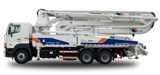 供应40X-5RZ混凝土泵车