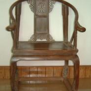 黄花梨圆椅图片
