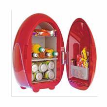供应6L蛋形美容冰箱保鲜箱电子冷热箱迷