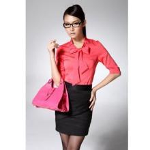 供应时尚中袖衬衫套裙1件起批冕姿H7708