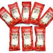 小沙司小包番茄酱图片