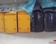 原料减速垄 铸钢橡胶减速垄图片
