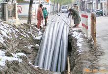 岷县西安非开挖顶管专业顶管施工队图片