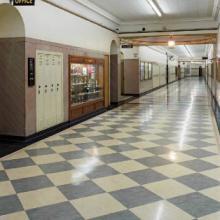 供应双桥区儿童PVC防护地板¢重庆PVC地板多少钱一米¢南岸区耐磨PVC地板批发