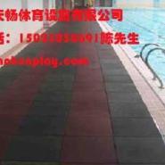 潼南县橡胶安全地垫多少钱一平方图片