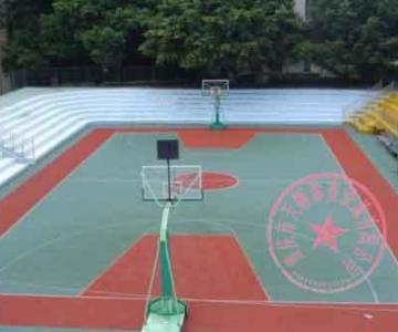 渝中区篮球场场地施工,渝中区塑胶羽毛球场报价,渝中区网球场场地制作图片