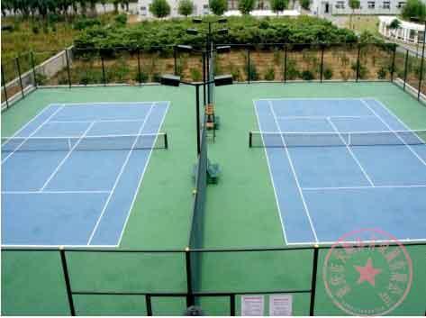 供应双桥区网球场施工/万州区塑胶羽毛球场施工/重庆硅PU篮球场施工