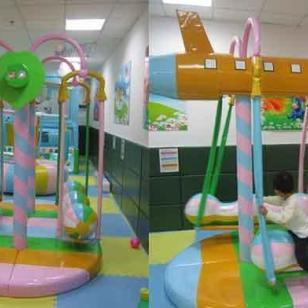 重庆儿童室内游戏室设计安装图片