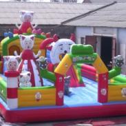石柱县大型儿童充气城堡图片
