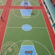 巴南区硅PU羽毛球场图片