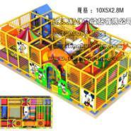 重庆涪陵室内儿童游乐园安装图片