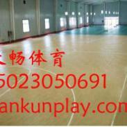 双桥区室内PVC地板篮球场图片