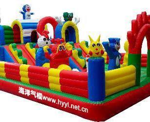 重庆2014新款儿童充气玩具图片