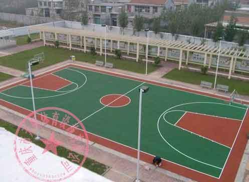 供应合川区网球场施工图片