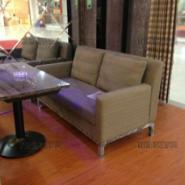 郑州时尚咖啡西餐休闲沙发桌子图片