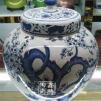 供应青花花瓶-纪念品-青花瓷,优质礼品,鑫腾陶瓷