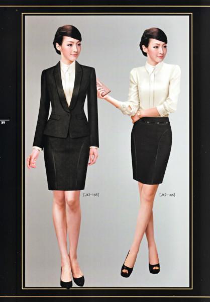 供应行政工作服专业订做厂家,西服套装,白领制服