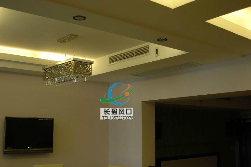 陕西大型连锁酒店专用铝风口销售