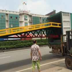 供應裝卸平台移動叉車上貨必選設備
