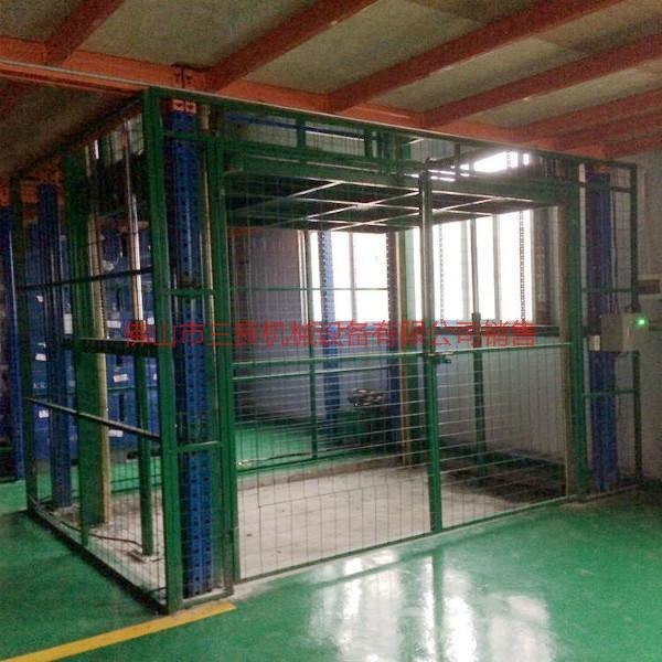 供应中山小榄厂房导轨式货梯安装