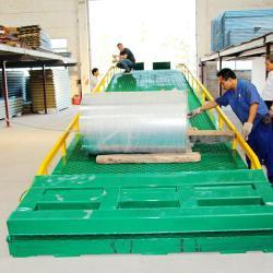 供應高度可任意調節移動式登車橋廠價