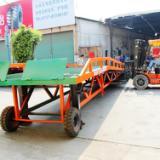 供应广州花都移动式登车桥批发  三良机械生产厂家现货出售