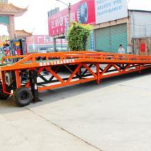 供应河源移动式装卸台登车桥叉车  佛山三良机械生产厂家现货出售