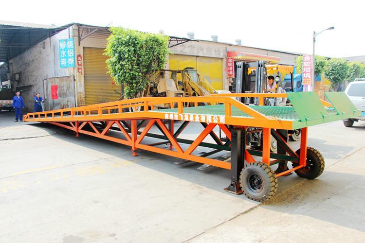 供应载重10吨装柜平台生产厂家