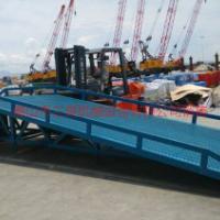 供应化工厂叉车装卸平台10吨载重