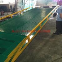 供应佛山厂家集装箱专用移动式登车桥10