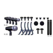 供应IOK(爱客)专爲打击鼓、爵士鼓等乐器而设计的麦克风,话筒