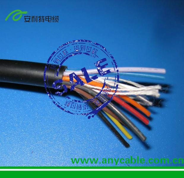 供应用于的PVC护套控制电缆机器人控制电缆