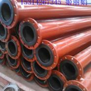 山东迪浩超高钢塑复合耐磨管道图片