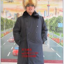 供应羊皮军大衣风衣男劳保用品87式