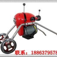 小型电动道疏通机_gq-200电动管道疏通机图片