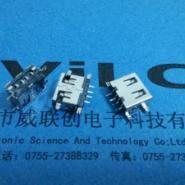 AF-短体USB10点0沉板贴片端子SMT图片