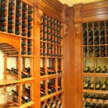 雅典娜酒架  木质酒架 实木酒架