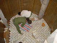 供应树脂胶泥铺设耐酸瓷砖_天津唐山耐酸瓷砖玻璃钢防腐