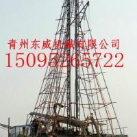 自抽、自卸的大型钻探式抽沙船厂家青州东威机械有限公司 图片|效果图
