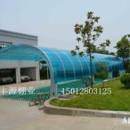 广东深圳膜结构汽车停车棚图片